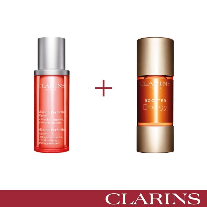 Clarins - Set de tratamiento Facial Piel Perfecta Clarins Suero & booster