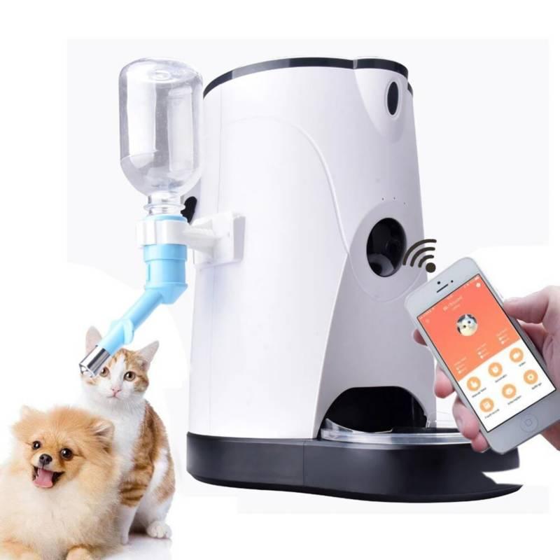 VZ - Alimentador con cámara para mascotas - wi-fi