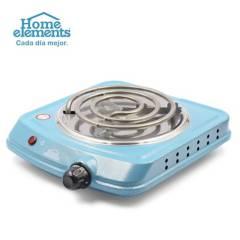 Home Elements - Estufa eléctrica  azul turqueza