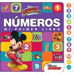 Grupo sin fronteras - Mi primer libro números Mickey
