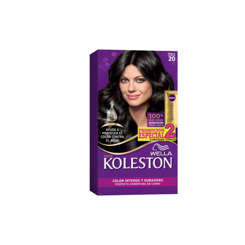 Wella Consumo - Kit tinte doble tubo koleston negro