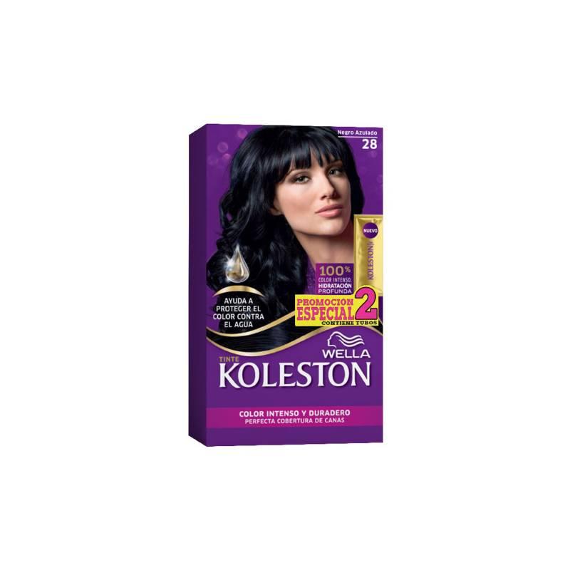 Wella Consumo - Kit tinte doble tubo koleston negro azulado