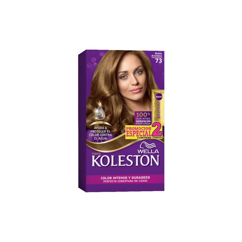 Wella Consumo - Kit tinte doble tubo koleston rubio avellana