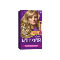 Wella Consumo - Kit tinte doble tubo koleston rubio claro
