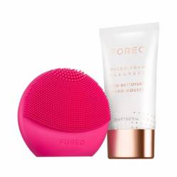Foreo - Fit Set Luna Play Plus Fuchsia + Jabon Facial+ Termo Fit Bottle + Muestra Serum Foreo
