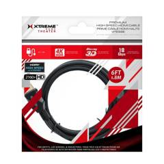 XTREME - Cable Hdmi Xtreme 1.8 Mts Soporta 3d Y 4k