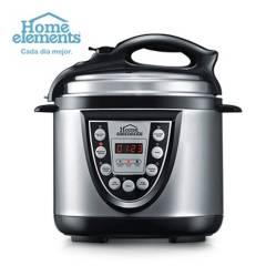 Home Elements - Olla Electrica Multifuncional 6 en 1 4 L
