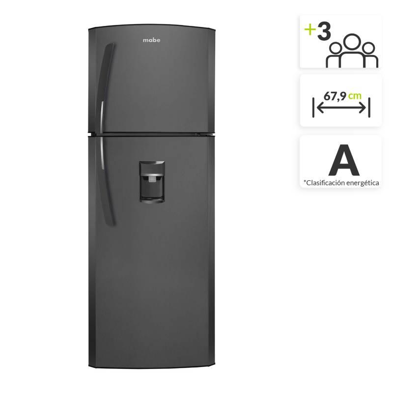 Mabe - Nevera Mabe Congelador Superior No Frost 405 lt Grafito RMP420FLCG