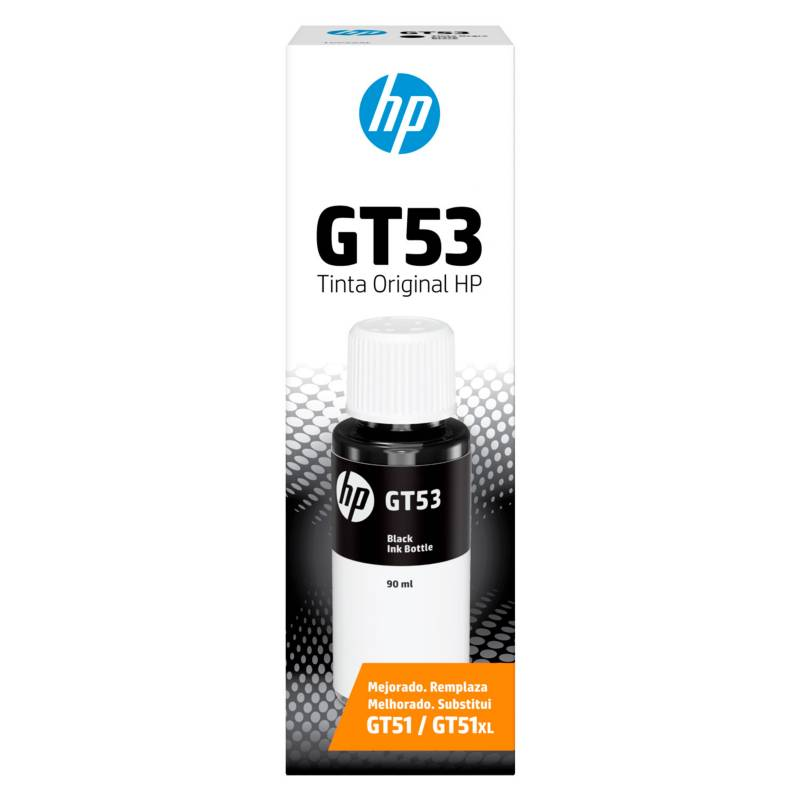 HP - Botella de Tinta HP Negro 1VV22AL