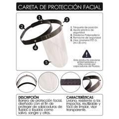 AM PLASTICOS LTDA - Careta de protección facial
