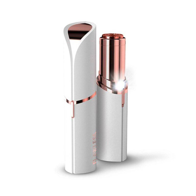 Tv Novedades - Depilador facial flawless bateria blanco