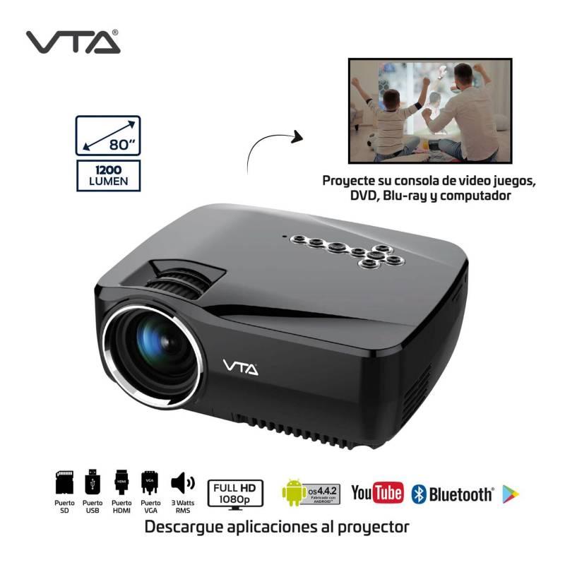 VTA - Proyector con android, wifi y bluetooth vta