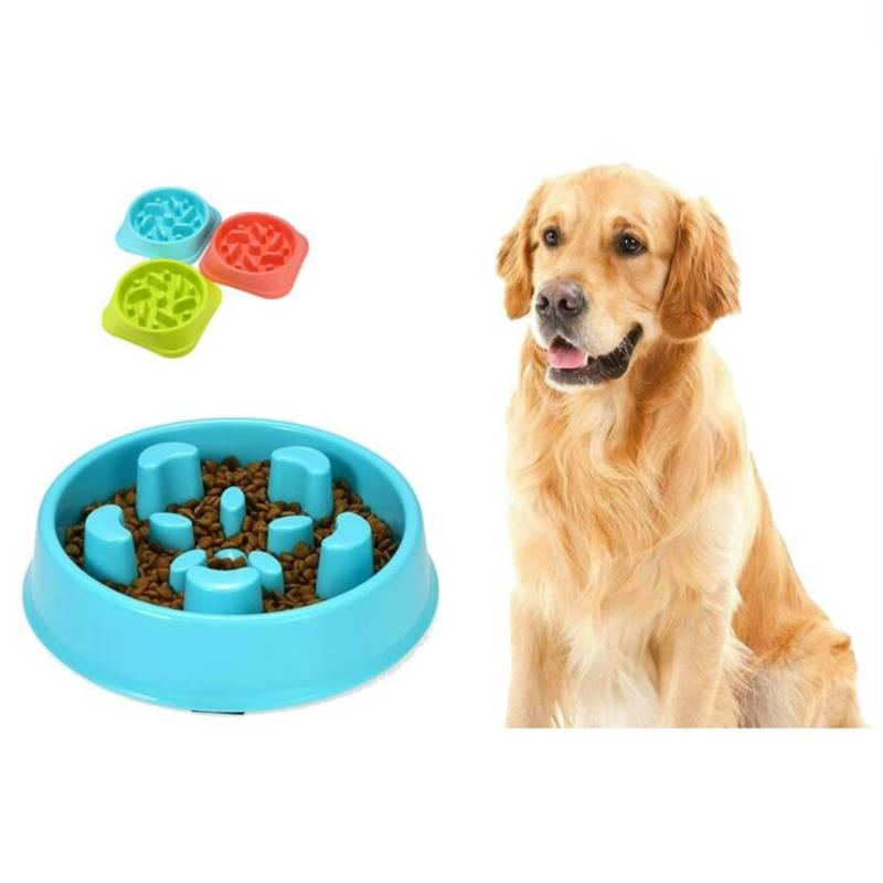 Buy4U - Comedero Alimentación Lenta + Frisbee En Cuerda