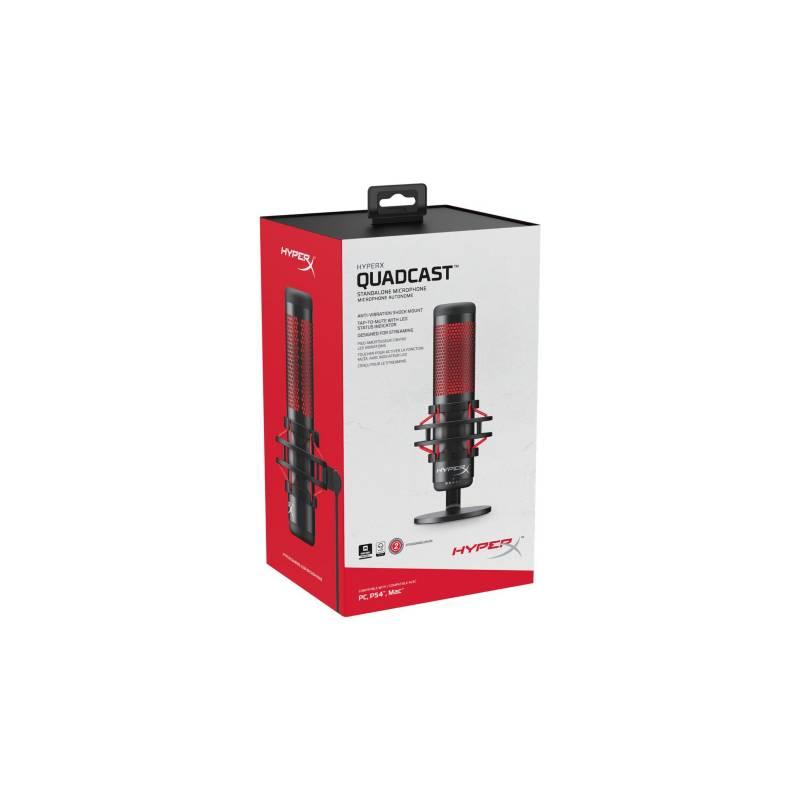 HyperX - Hyperx quadcast - micrófono condensador