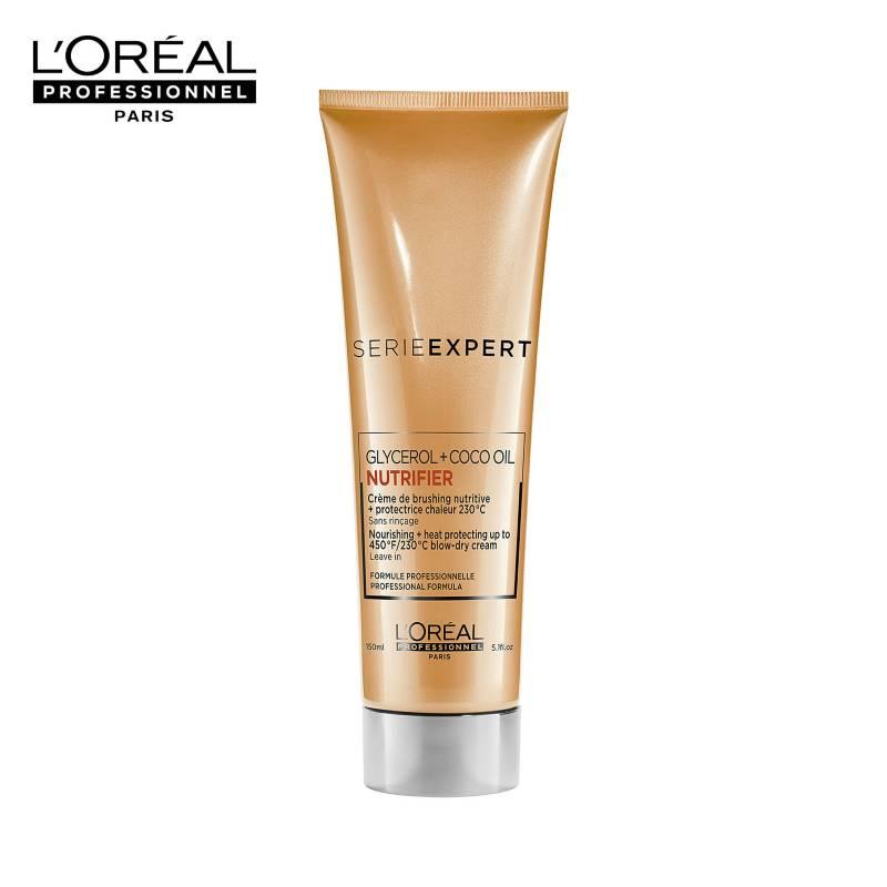 Loreal Serie Expert - L'Oréal Professionnel Paris - Serie Expert - Nutrifier - Crema para Peinar Cabello Seco y Deshidratado 125ml
