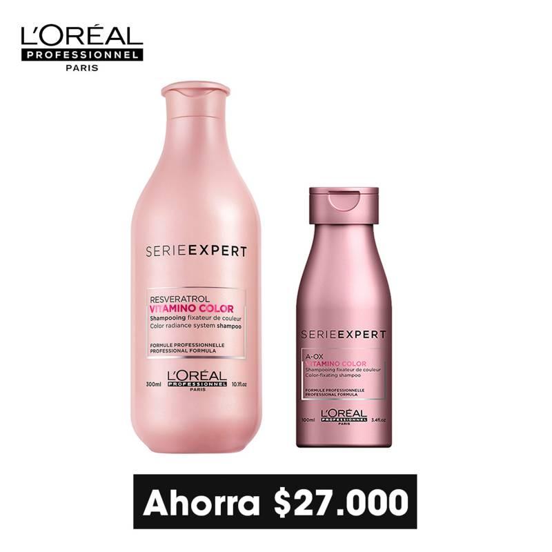Loreal Serie Expert - L'Oréal Professionnel Paris - Serie Expert - Vitamino Color - Shampoo Cabello Coloreado 300ml