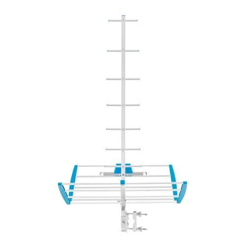 Antena uhf aérea de 16 elementos hd
