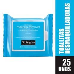 NEUTROGENA - Toallitas desmaquillantes Neutrogena X 25 Unidades