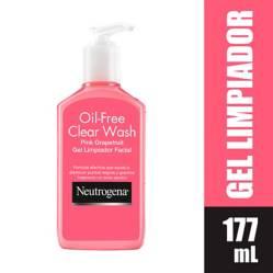 Neutrogena - Gel Limpiador Neutrogena Pink Grapefruit 177 ml