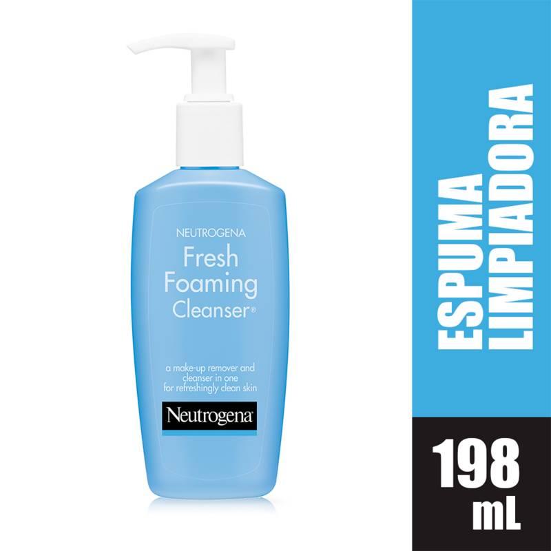 Neutrogena - Espuma Limpiadora Fresh Foaming Neutrogena 198 ml