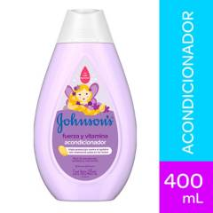 Johnsons Baby - Acondicionador Johnson´s baby fuerza y vitamina 400 ml