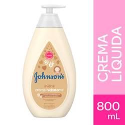 Johnson Baby - Crema Hidratante Corporal Líquida Johnson´s baby avena 800 ml