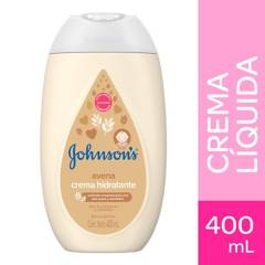 Johnsons Baby - Crema Hidratante Corporal Líquida Johnson´s baby avena natural 400 ml