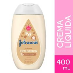 Johnson Baby - Crema Hidratante Corporal Líquida Johnson´s baby avena natural 400 ml