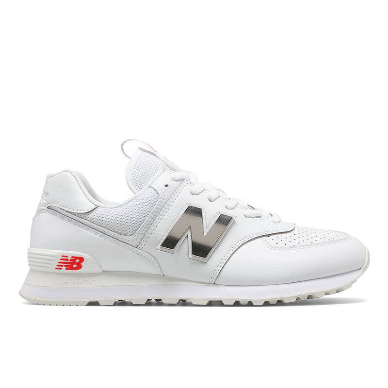 Tenis Hombre New Balance 574 - Blanco