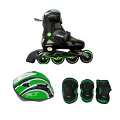 Coleman - Combo patines semiprofesional + kit protección