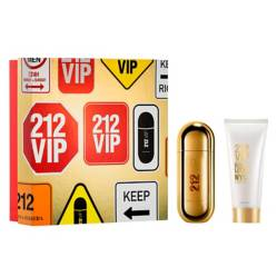 Carolina Herrera - Set de Perfume Carolina Herrera 212 VIP EDP 50 ml + Body Lotion 75 ml Mujer