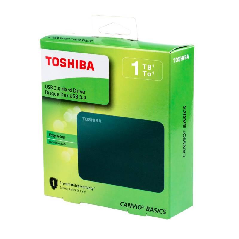 Toshiba - Disco Duro Externo Toshiba 1Tb