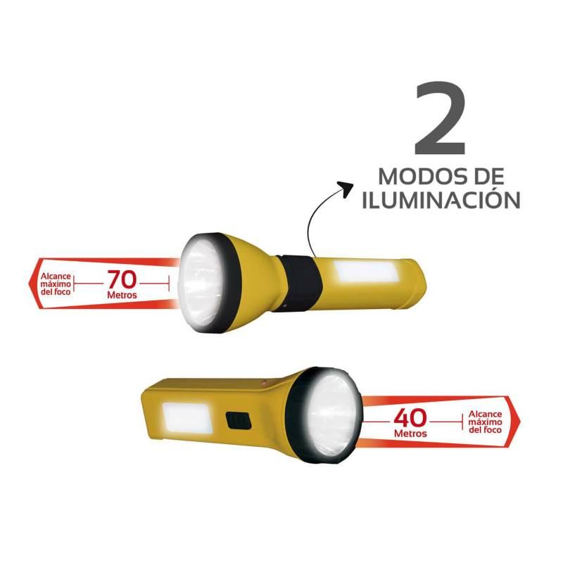 VTA - Kit de linternas recargables doble iluminacion vta