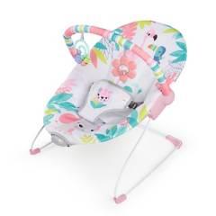 Bright Starts - Silla Vibradora Bouncer Flamingo