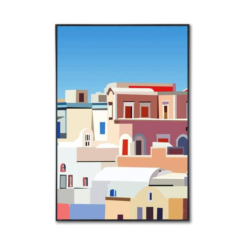 Sándalo - Retablo Ciudades 1 40 x 60 cm
