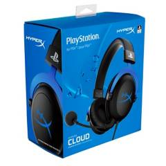HyperX - Audífonos HyperX Cloud para Gaming PS4