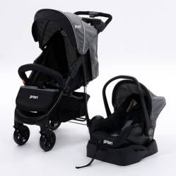 Priori - Coche Travel System Gris Moscow
