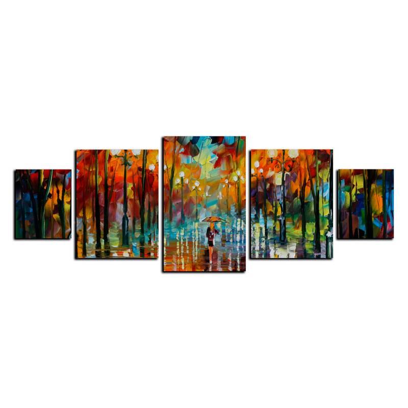 Art Industry - Cuadro Decorativo Camino 2 - 130 x 50 cm
