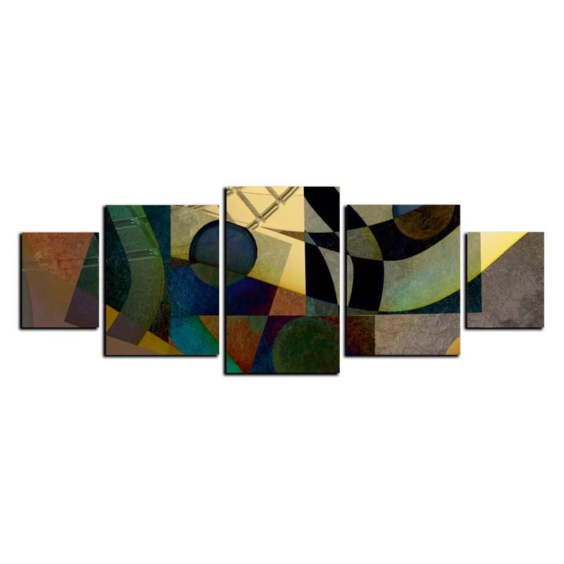 Art Industry - Cuadro Decorativo Abstra 11 - 130 x 50 cm