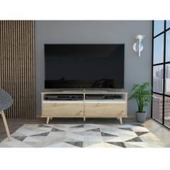 Rta Muebles - Rack para TV Benett RLC 4862 Coñac