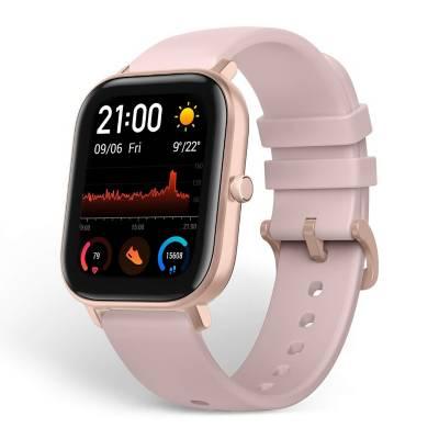 smartwatch xiaomi amazfit gts aluminio pink