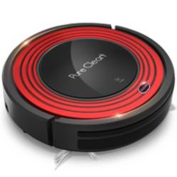 PURE CLEAN - Aspirador robot eléctrico 3 modos pureclean