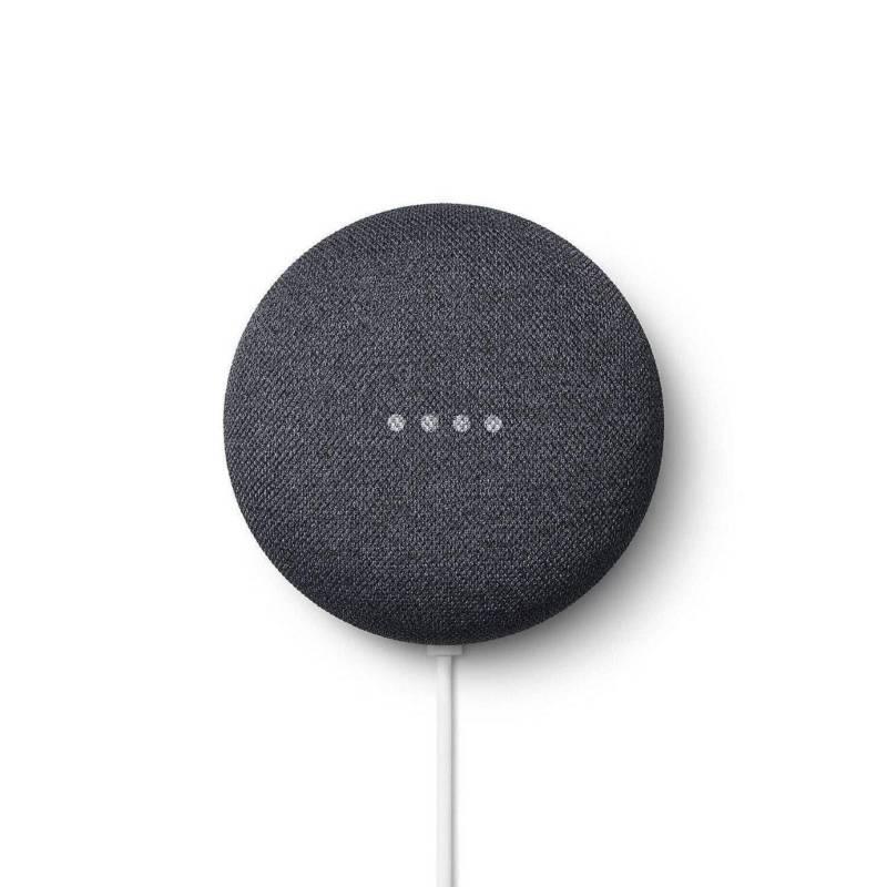 GOOGLE - Google nest mini 2da gen asistente de voz negro
