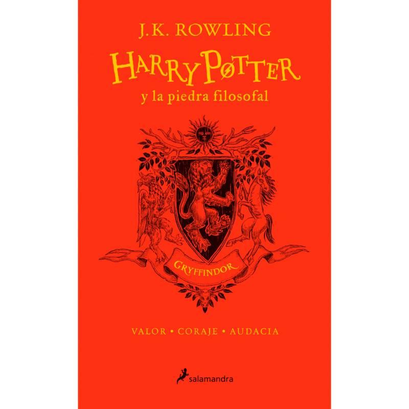 Penguin Random House - Harry Potter Y La Piedra Filosofal 1 - Gryffindor - Rowling