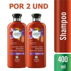 Herbal Essences - Shampoo Herbal Essences Bío:Renew Manuka 400mlx2