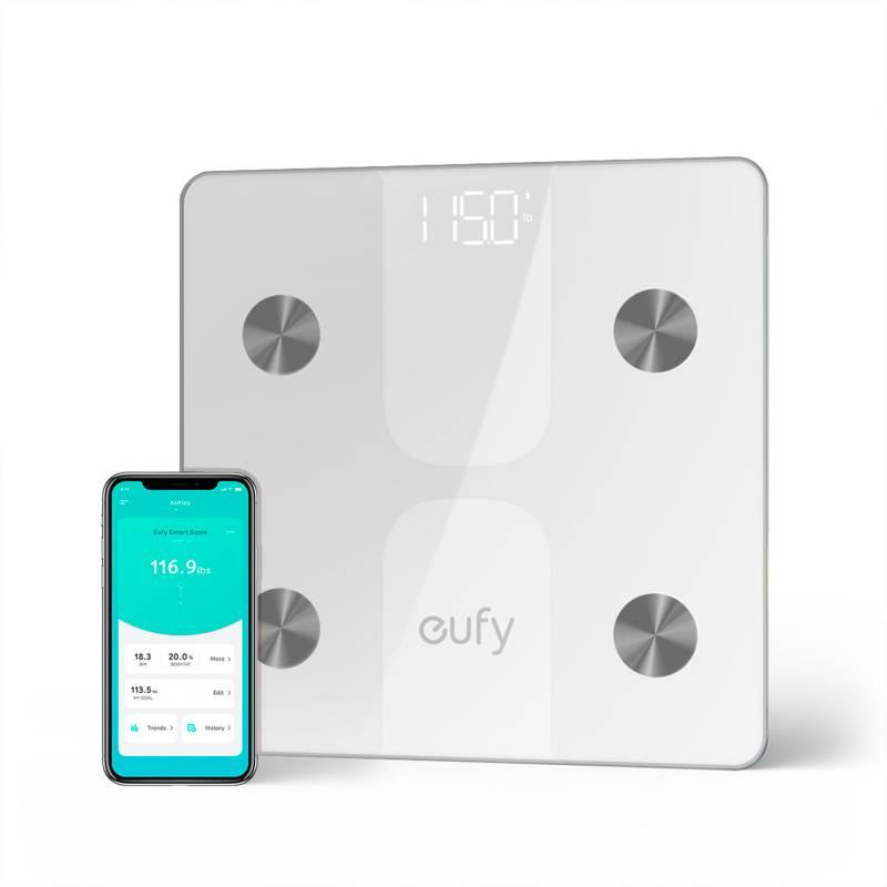 Eufy - Balanza inteligente Bodysense C1 Eufy  Blanca