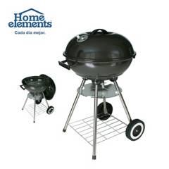 Home Elements - Asador de carbón redondo