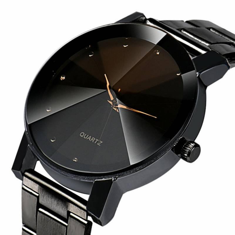 GENERICO - Reloj Hombre Cuarzo Acero Inoxidable Analogico FS