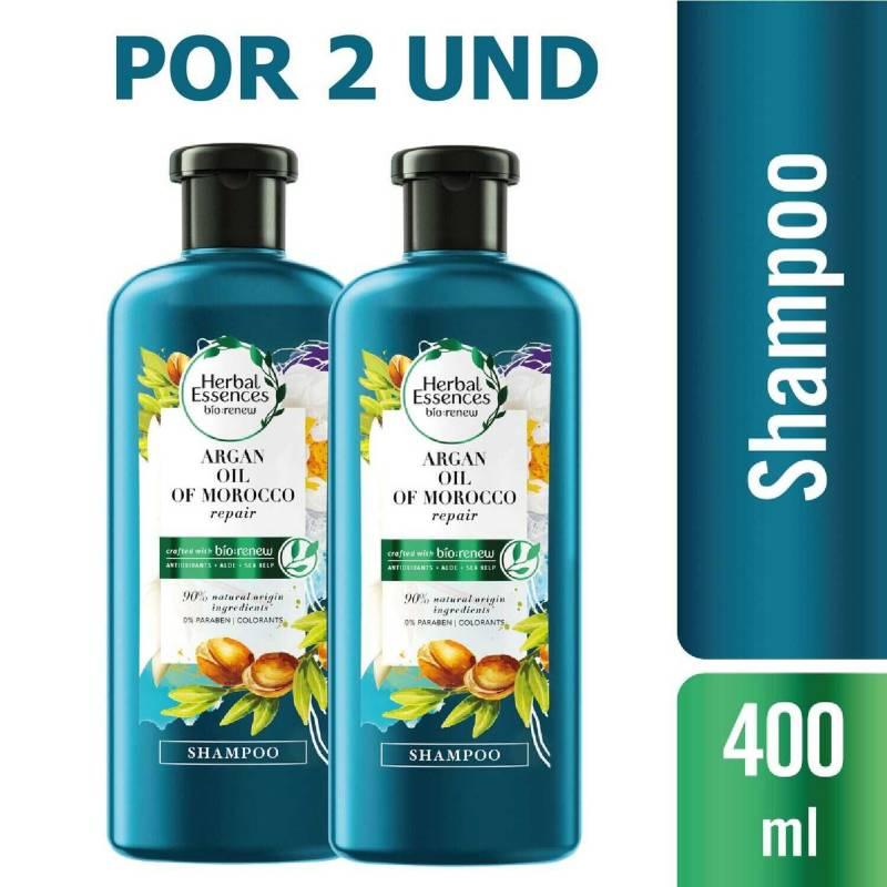 Herbal Essences - Shampoo Herbal Essences Bio:Renew Argan 400 Ml X2u