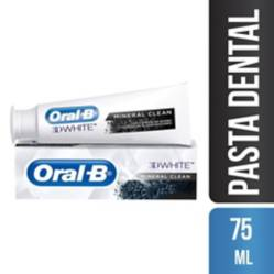 Oral B - Crema Dental Oral-B 3D White Mineral Clean 75 Ml